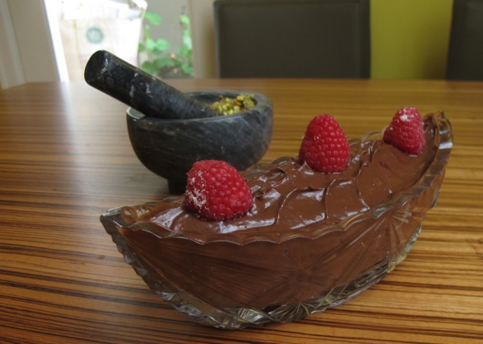 Raw Chocolate Avocado Mousse